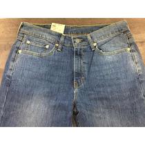 Levis Calça Jeans Modelo 514 W32 L34 Straigth Fit - 5140387