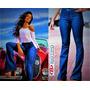 Calça Jeans Feminina Biotipo Flare Hot Pant Corpete M18141
