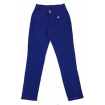 Calça Sarja Feminina Azul Plus Size - Tamanhos Grandes