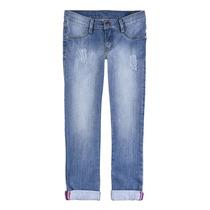 Calça Jeans Infantil Menina Elastano Hering Kids Skinny