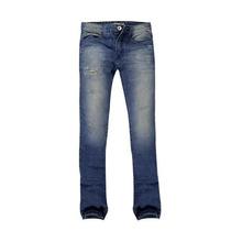 Calça Jeans Masculina Puídos Cintura Baixa Khelf