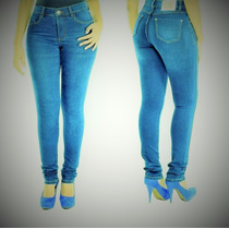 Calça Jeans Feminina Sawary Hot Pant Legging Modelo 239152.