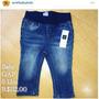 Gap - Calça Jeans Molinha Com Cintura Elástico - Menina 6-12