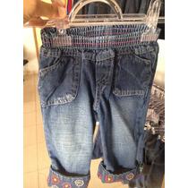 Calça Jeans Infantil Feminina Bordada! 3 Anos