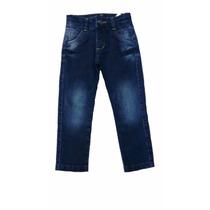 Calça Jeans Infantil Masculino Com Ajuste Interno De Cintura