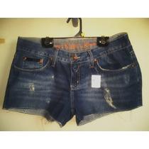 Bermuda Jeans Feminina Calvin Klein Tm 40