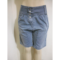 Bermuda Jeans Saruel Marca Bivik Tam 40 Ótimo Estado