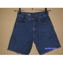 Be009 - Bermuda Jeans Da Bumba S Manequim 36