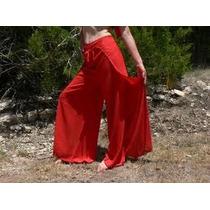 Calça Wrap Estilo Tailandesa - Yoga, Academia, Pantalona