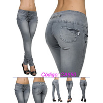 Mi55(ca-2 Promoção)calça Jeans Temos Sawary Xtra Charmy Mix