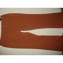 Calça Em Poliester C/ Cintura Transpassada Tam 42 Nova