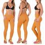 Queima Total Calça Fusô Fitness Lisa Legging