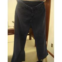 Calça Jeans Azul Tradicional Aqualung Tam. 38/40