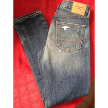 Calça Jeans Skinny Masculina Abercrombie & Fitch Hollister