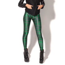 Legging Importada - Estampa Black Milk- Tartan Green- Xadrez