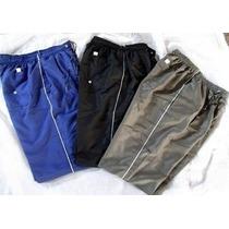 Calça Tactel Com 3 Bolsos Cordão Ajustador Veste Até N:52 Eg