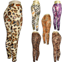 Lote 12 Legging Estampa Animal Em Liganete