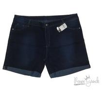 Bermuda Jeans Lycra Feminina 42 44 46 48 50 52 54 56 58 60