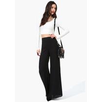 Pantalona Eg Calça Importada Clássico Muito Elegante Preto