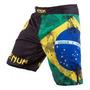 Bermuda-fightshorts- Venum Brazilian Flag -lyoto Machida