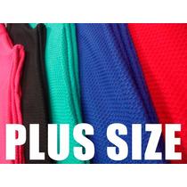 Lote Kit 5 Legging Suplex Jacard Coltex Fitness Plus Size