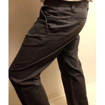 Calça Masculina Preta - Tecido Sarja Cotelê