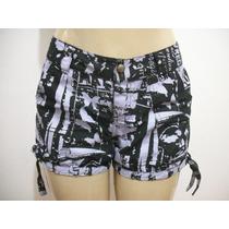 Shorts Tipo Malhado, Praia Tam 40 Bom Estado