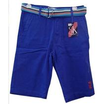 Bermuda Jeans Sergio K Azul Royal Ref Kkp Frete Grátis