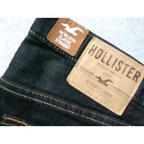 Calça Jeans Hollister Masc. Classic Straight Tam.40 R$169.00