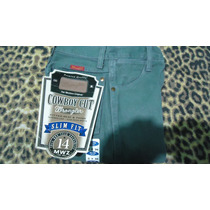Calça Wrangler Jeans Cinza- 14mwznt Slim Fit - Frete Grátis.