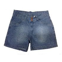 Short Feminino Estampa Jacar - Plus Size (tamanhos Grandes)