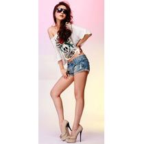 Short Jeans Customizado Numero 38