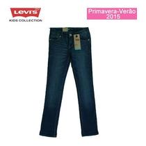 Calça Jeans Maya Cuffed Skinny Levis Kids
