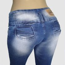 Kit Calça Jeans Feminina Lote Com 10 Unidades Atacado