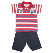 Conjunto Infantil Menino Camisa E Bermuda Mim 003662 (071)