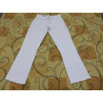 Calça Jeans Le Lis Blanc Tamanho 38 Branco Gelo Otimo Estado