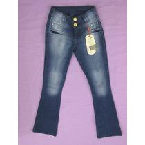 Calça Jeans Flare, Boca Larga