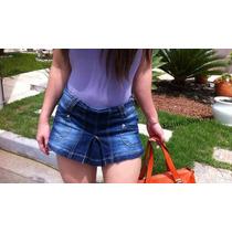 Shorts Saia Jeans Sawary Verão 2015