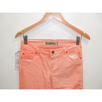 Calça Jeans Desbotada Zara 100% Original