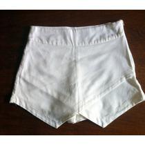 Short/saia Barra Assimétrica