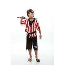 Fantasia De Pirata Infantil,caribe,jack Sparrow,cosplays