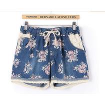 Short Jeans Florido - Plus Size