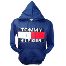 Blusa De Moletom Tommy Hilfiger Azul Mar. Ref Tfy Original