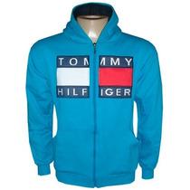 Blusa De Moletom Tommy Hilfiger Azul Bb Ref Tfy Original