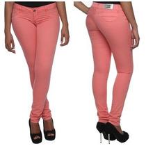 Sawary Calça Legging Collors Rosa Com Lycra