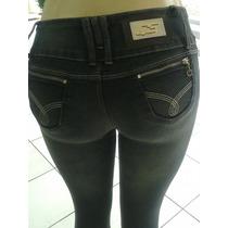 Calça Levanta Bumbum Feminina Jeans Streach Questão D Estilo