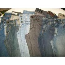 Lote 10 Calças (40) Semi Novas Roupas Usadas Jeans Feminino