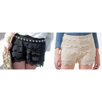 Shorts De Renda! Super Fashion! Juju Panicat