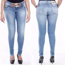 Calça Feminina Sawary Jeans Modela Bumbum Premium Sabrina