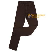 Calça Jeans Masculina Cowboy Cut Marrom - Tassa 14562